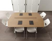tavolo pesante da riunione
